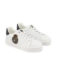 Afbeelding van Dolce & Gabbana DA0702 AJ822 kindersneakers wit