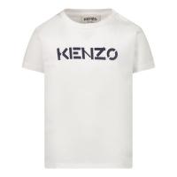 Afbeelding van Kenzo K05038 baby t-shirt wit