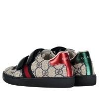 Afbeelding van Gucci 463088 9C220 kindersneakers blauw