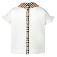 Afbeelding van Burberry 8020158 kinder t-shirt wit
