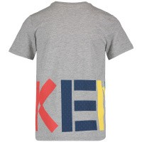 Picture of Kenzo KN10538 kids t-shirt grey