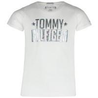 Afbeelding van Tommy Hilfiger KG0KG04084 kinder t-shirt wit