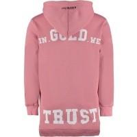 Afbeelding van In Gold We Trust FAH001W sweat dress oud roze