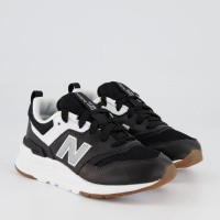 Afbeelding van New Balance PR997 kindersneakers zwart