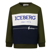 Afbeelding van Iceberg MFICE2323B baby trui army
