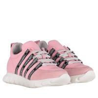 Afbeelding van Dsquared2 59827 kindersneakers licht roze