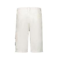 Afbeelding van Stone Island L0412 kinder shorts wit