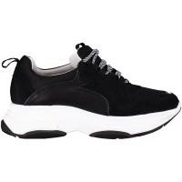 Afbeelding van Deabused 112211 dames sneakers zwart