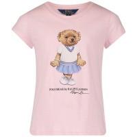Afbeelding van Ralph Lauren 743484 kinder t-shirt licht roze