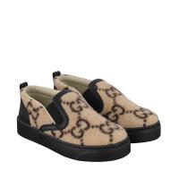 Afbeelding van Gucci 580847 kindersneakers beige