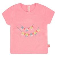 Afbeelding van BillieBlush U05318 baby t-shirt fluor roze