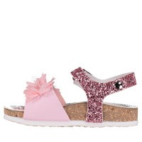 Picture of MonnaLisa 833021 kids sandals light pink