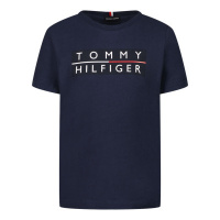 Afbeelding van Tommy Hilfiger KB0KB06675 B baby t-shirt navy
