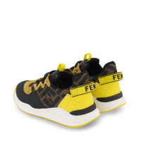Afbeelding van Fendi JMR362 AEGR kindersneakers bruin