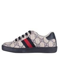 Afbeelding van Gucci 433149 9C210 kindersneakers blauw
