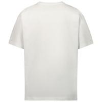 Afbeelding van Moschino HRM02X kinder t-shirt wit