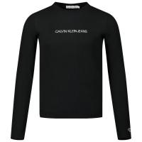 Afbeelding van Calvin Klein IG0IG00571 kinder t-shirt zwart