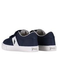 Picture of Ralph Lauren RF101460 kids sneakers navy
