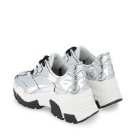 Afbeelding van NIK&NIK G9483 kindersneakers zilver