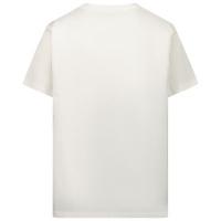 Afbeelding van Versace 1000239 1A00282 kinder t-shirt wit