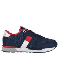 Picture of Tommy Hilfiger 30345 kids sneakers navy