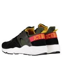 Picture of Iceberg IU1053 mens sneakers green