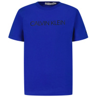 Afbeelding van Calvin Klein IB0IB00347 kinder t-shirt cobalt blauw