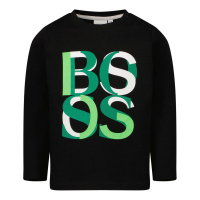 Afbeelding van Boss J05872 baby t-shirt zwart
