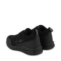 Afbeelding van Tommy Hilfiger 32082 kindersneakers zwart
