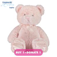 Afbeelding van Coccinelle knuffel 45cm babyaccessoire licht roze