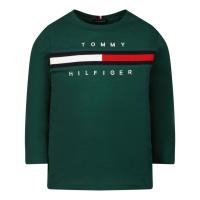 Afbeelding van Tommy Hilfiger KB0KB06951B baby t-shirt groen