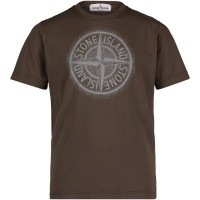 Afbeelding van Stone Island 691621054 kinder t-shirt army