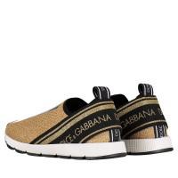 Afbeelding van Dolce & Gabbana DA0660 AZ288 kindersneakers goud