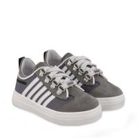 Afbeelding van Dsquared2 65141 kindersneakers licht grijs