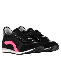 Afbeelding van Dsquared2 59776 kindersneakers zwart