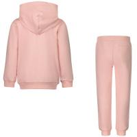 Afbeelding van Moschino MTK00G baby joggingpak licht roze