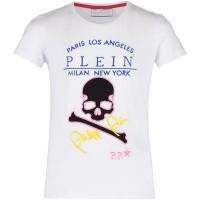 Afbeelding van Philipp Plein GTK0308 kinder t-shirt wit