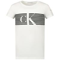 Afbeelding van Calvin Klein IG0IG00569 kinder t-shirt wit