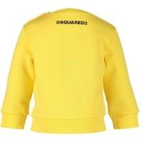 Afbeelding van Dsquared2 DQ031T baby trui geel
