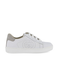 Afbeelding van Gucci 626624 kindersneakers wit