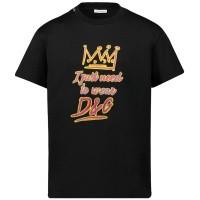 Afbeelding van Dolce & Gabbana L4JT7N G7SVO kinder t-shirt zwart