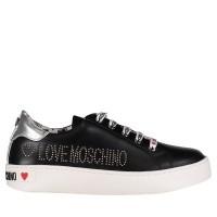 Afbeelding van Moschino JA15243 dames sneakers zwart