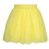 Picture of MonnaLisa 17CGON kids skirt yellow