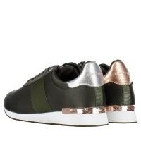 Afbeelding van Ted Baker 917899 dames sneakers donker groen