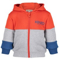 Picture of Kenzo KN17508BB baby vest light gray