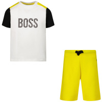Afbeelding van Boss J08048 babysetje geel
