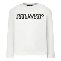 Afbeelding van Dsquared2 DQ04DU baby t-shirt wit