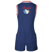 Afbeelding van MonnaLisa 195200R3 kinder jumpsuit blauw