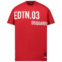 Afbeelding van Dsquared2 DQ0030 kinder t-shirt rood