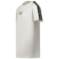 Afbeelding van EA7 3KBT55 kinder t-shirt wit